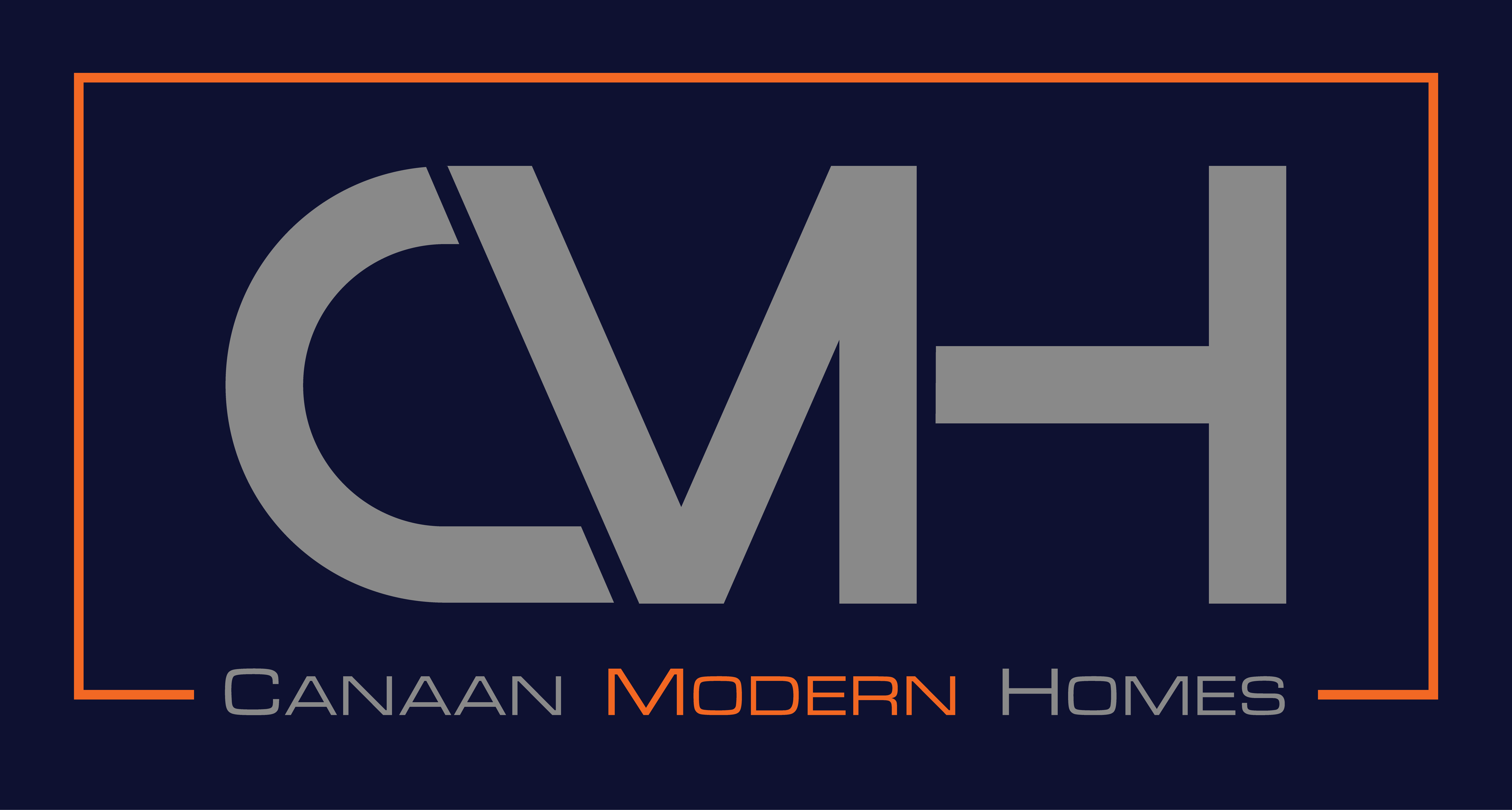 Cmh Logo Grey On Blue W Orange Png