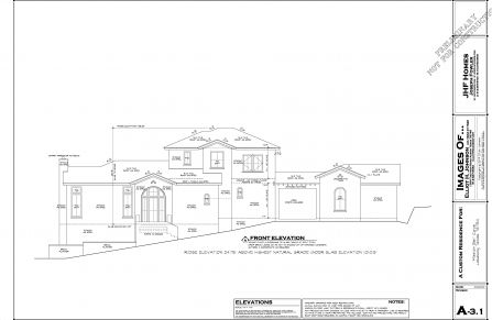 Preliminary Front Elevation Lot 283 Jpeg